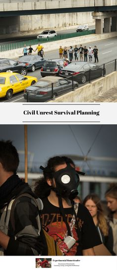 In times of civil unrest, survival planning ahead of time is the best way to be sure to keep your family safe. Family survival planning is a smart move. #survivalplanning #familysurvivalplanning #basicsofsurvival #emergencypreparedness #emergencyreadinessplan