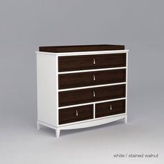 Attractive Nursery Works 3 Wide Dresser. Ducduc™