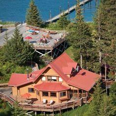 Tutka Bay Wilderness Lodge, Homer, Alaska