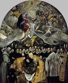 El Greco - The Burial of the Count of Orgaz - El Greco — Wikipédia