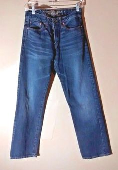 AMERICAN EAGLE Men's  Blue Jeans SZ 28/30   EXCELLENT! #AmericanEagleOutfitters #SlimSkinny