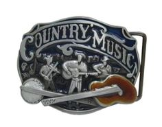 Country Music Guitar Belt Buckle – Great Guitar Gifts