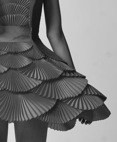 textured dress, pleated fabric