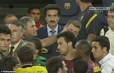 One of his most shameful moments came when he gouged Tito Vilanova