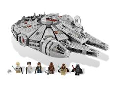 7965 Millennium Falcon. I mean how can any Star Wars fan not want a Millennium Falcon? A 2011 release, this is the 3rd design (I'm not counting the Midi-scale model from 2009) of the iconic ship flown throughout the original trilogy. This really is the biggest and best, most accurate design yet. With it's hefty price tag of $140 however, I really want to catch a sale on it though.