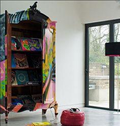 Graffiti armoire!