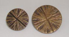 Antique Brass Starburst - Sew Much Fabric