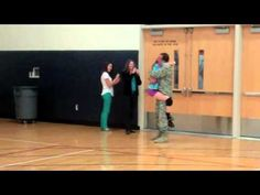 [VIDEO] U.S. Soldier Surprises Daughter During Volleyball Practice