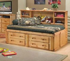 Full size captains bed plans Bedroom Storage Towers Add 4 to the head and foot ends for length and leave a 17 gap Remove the top drawers Bed Plans, Small Bedroom Storage, Bedroom Storage, Storage Solutions Bedroom, Furniture, Bookcase Bed, Daybed With Storage, Bed With Drawers, Captains Bed