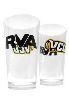VCU RVA Pint Glass - $9.99 #VCU Virginia Commonwealth University