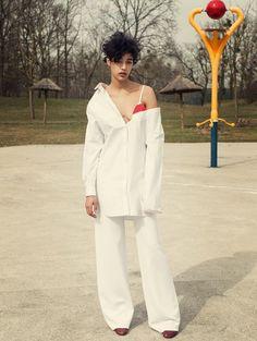 Duchess Dior: Damaris Goddrie by Amrit Israeli for L'Officiel Italia May 2015
