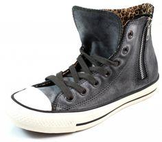 Converse All Stars sneaker side zip Hi Zwart ALL76