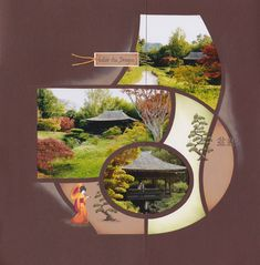 bambouseraie5a Toronto, Scrapbook Albums, Thailand, Mirror, Voici, Garden, Photos, Paper Crafting, Template
