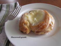 Cream Cheese Danish uses Crescent rolls.