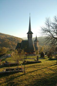 Wooden church, Maramures Romania