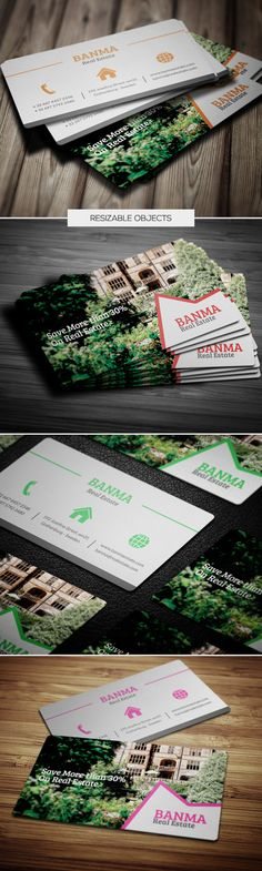 Modern and Unique Business Card Design