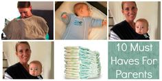 10 Must Haves for New Parents from @havingfunsaving, including @magicsleepsuit, @ponchobaby and @mobywrap!