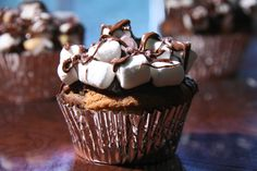 Rocky Road Cupcakes from Sweet and Crumby
