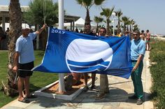 Crete's Lyttos Beach Hotel Celebrates Blue Flag Award.