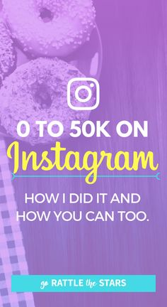 0 to 50k on Instagra