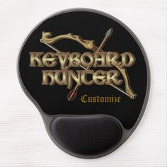 Shop Keyboard Hunter MMORPG Gel Mouse Pad created by BlueRose_Design. Wedding Invitation Wording, Invitation Cards, Pvp, Activity Games, Dog Bowtie, Business Supplies, Games To Play, Gifts For Him, Keyboard