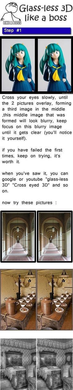 Glass-less 3D