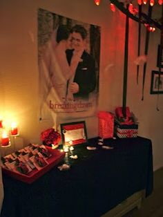 Twilight: Breaking Dawn Birthday Party   I wouldn't have this for a birthday party-I'd always keep it in my room