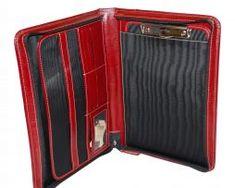 Exkluzívna-kožená-spisovka-č.8162-v-červeno-hnedej-farbe-1 Wallet, Fashion, Colors, Pocket Wallet, Moda, Fasion, Purses, Diy Wallet, Purse