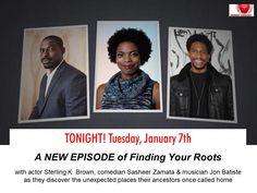New Episode of Finding Your Roots – Homecomings – On PBS Tonight! Finding Your Roots, Finding Yourself, Jon Batiste, Episode 3, Genealogy, Comedians, Homecoming, Insight, Scrapbook