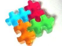 puzzle  - mydło glicerynowe