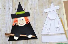 Manualidades para Halloween-Brujita