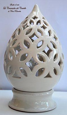 ZXW Lampada da tavolo in ceramica semplice lampada da tavolo