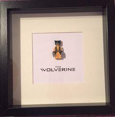 Wolverine lego frame