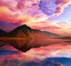 ~ RainBow Lake ~  By Emerald-Depths