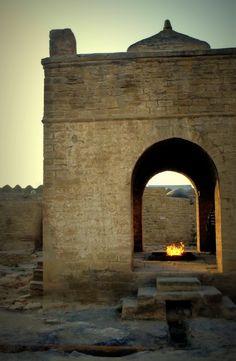 Baku Ateshgah, Fire Temple. Surakhani, Azerbaijan