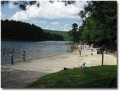 New Germany State Park near Deep Creek Lake, MD.