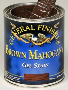 General Finishes - Gel Stain - Grey - 1 Quart