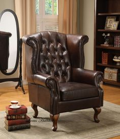 The chair is of extreme antiquity. Bringing the classic leather armchair is never a question as it always exists. These kinds of armchairs are normally for the gentleman who likes to smoke and relax at home, comfortable, elegant, leather classic and refined. If you wanted to decorate a man's room, a classic armchair is a perfect piece for heartening and relaxing.