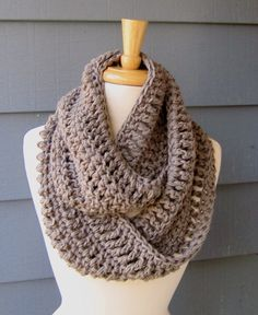 Crotched scarf