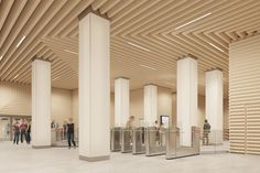Variant Studio's Moscow Metro Proposal: The World's Quietest Metro Station?