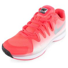 check out 57151 bdaa8 The Nike Women s Zoom Vapor 9.5 Tour Tennis Shoes gives you the lightweight  feel you need
