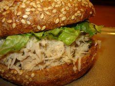 Crock Pot Chicken Caesar Sandwiches