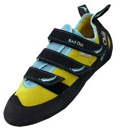 My climbing shoes, red chilli climbing shoes