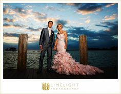 RESORTS WORLD BIMINI BAY, Bahamas, Bimini Bay, Bride and Groom, Pink Wedding Dress, Wedding Photography, Limelight Photography www.stepintothelimelight.com