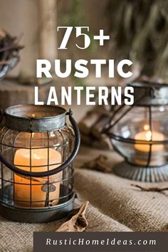 Rustic lanterns are a great accessory to decorate with and add a charming touch at a very low cost. View our large selection of styles, sizes and finishes. Find the perfect one for your design. Rustic Lanterns, Are You The One, Home Accessories, Touch, Design, Decor, Decoration, Home Decor Accessories