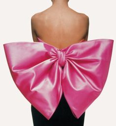 yves saint laurent's iconic bow