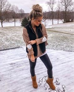 charming fall outfits ideas for women that looks cool 8 ~ my. - charming fall outfits ideas for women that looks cool 8 ~ my. Casual Winter Outfits, Winter Fashion Outfits, Casual Fall Outfits, Look Fashion, Trendy Outfits, Autumn Winter Fashion, Vest Outfits For Women, Winter Style, Fashion Ideas