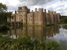 HERSTMONCEUX CASTLE, ENGLAND, here's another nice out in the nowere type country with no houses or landscapers to ruin the veiw lol.