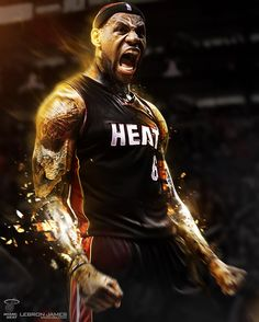 King James - driven, determined, dedicated and hugely talented. A level ahead of everybody else. Total Inspiration.