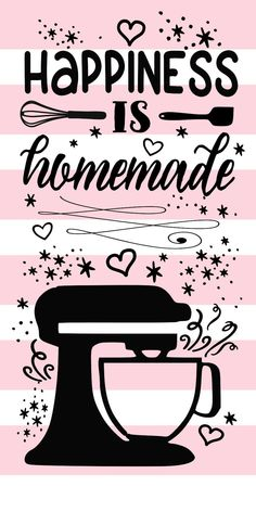 Happiness is homemade SVG by JerseyCustom on Etsy